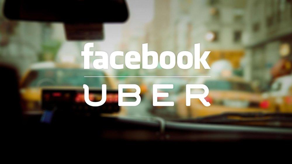 Facebook s'allie à Uber par le biais de Messenger