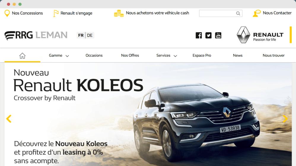 Renault Retail Group Leman