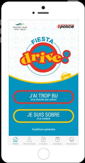Fahrgemeinschafts-App Fiesta Drive
