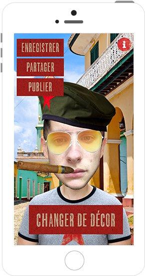 Mes Selfies à Cuba